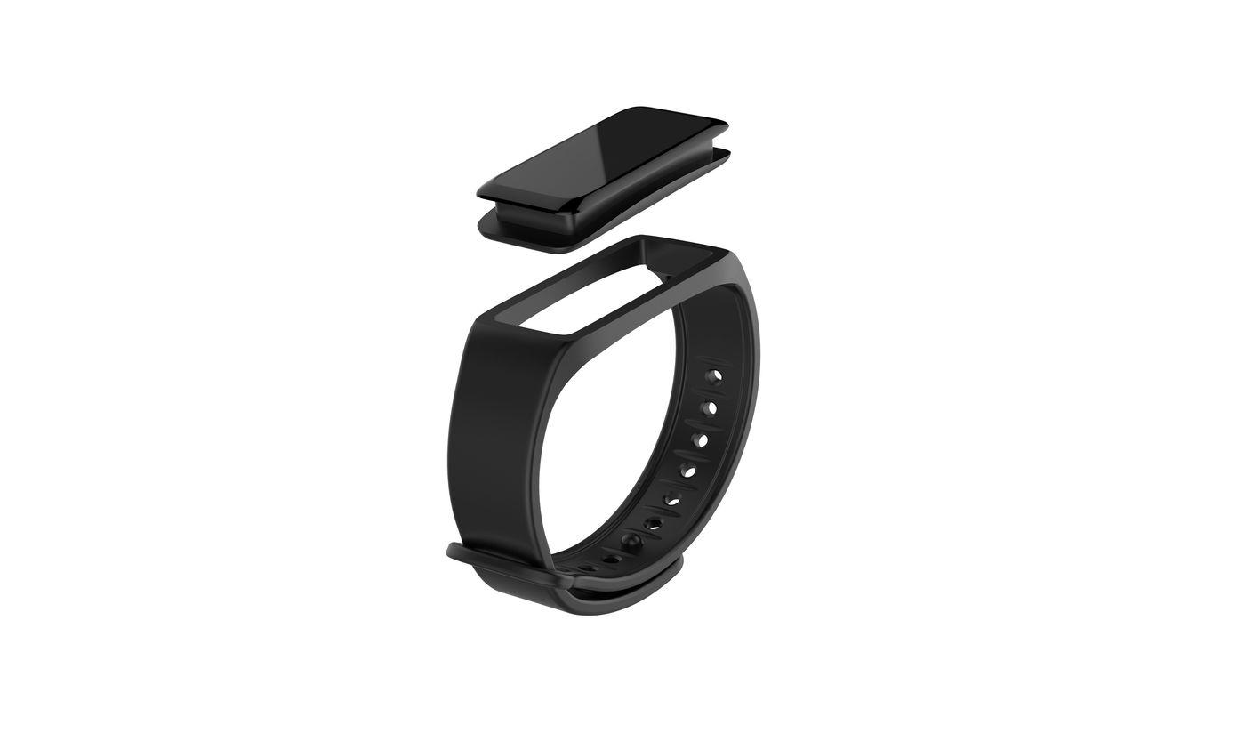 ZeFit2-removable wristband black
