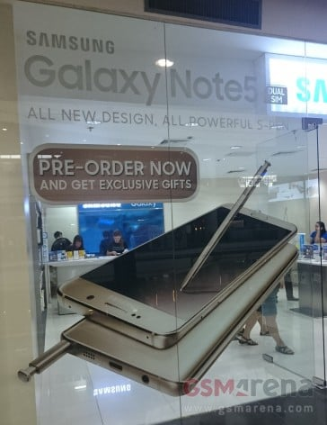 Tabletowo.pl Samsung Galaxy Note 5 dostępny również w wersji dual SIM Android Samsung Smartfony