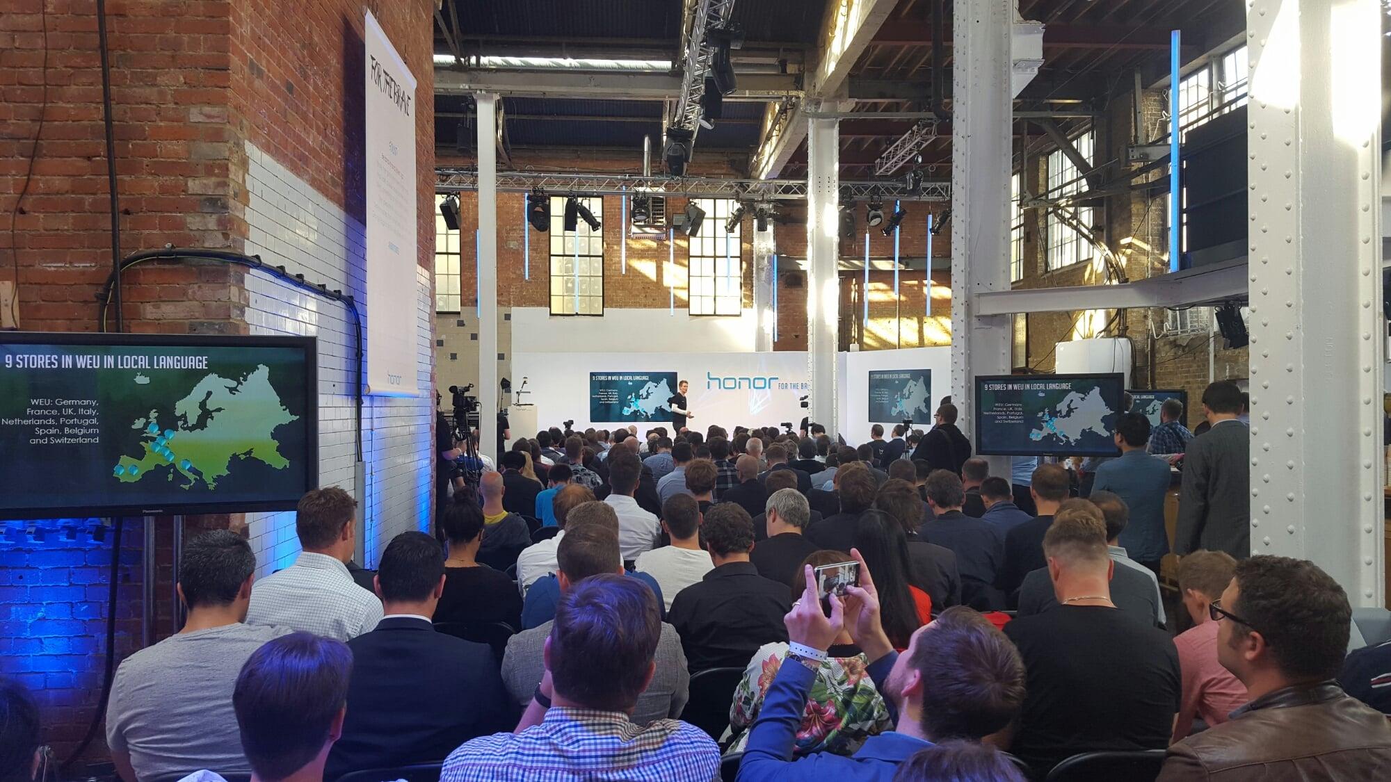 Tabletowo.pl Honor 7 – w Londynie europejska premiera, w moich rękach - egzemplarz testowy Android Huawei Smartfony Zapowiedzi