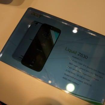 Tabletowo.pl IFA 2015: Acer Liquid Z630 z 5,5-calowym wyświetlaczem Acer Android Smartfony