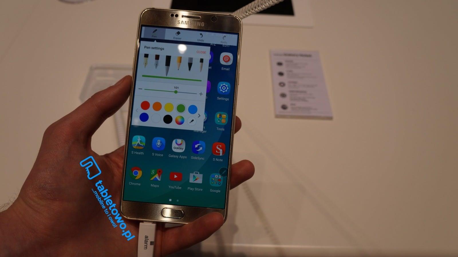 Samsung Galaxy Note 5 może pojawić się w Europie na początku przyszłego roku 18