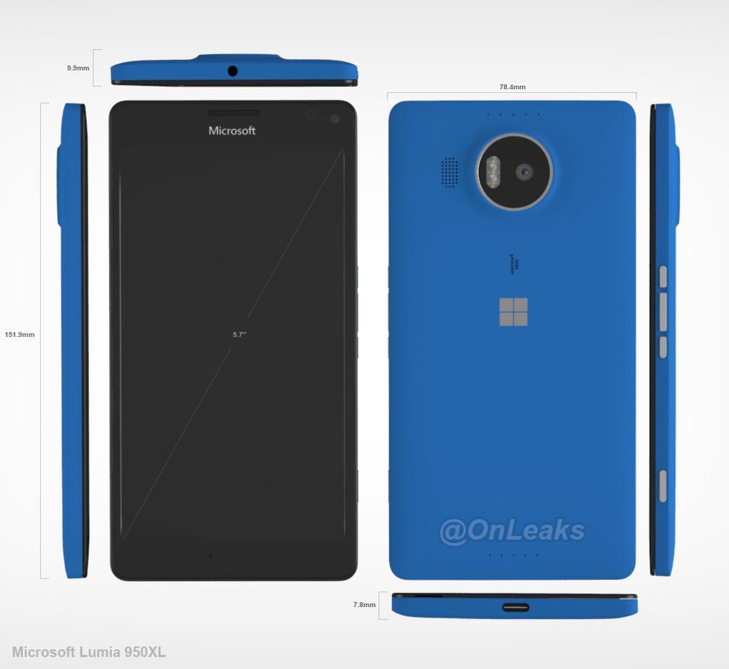 Rendery Microsoft Lumia 950 XL wyciekają do sieci [AKTUALIZACJA] 27