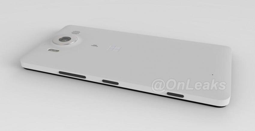 Microsoft Lumia 950 render