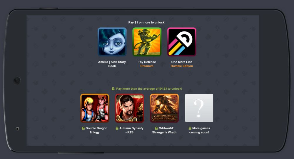 Tabletowo.pl Humble Mobile Bundle 14: Amelia, Toy Defense i One More Line Gry