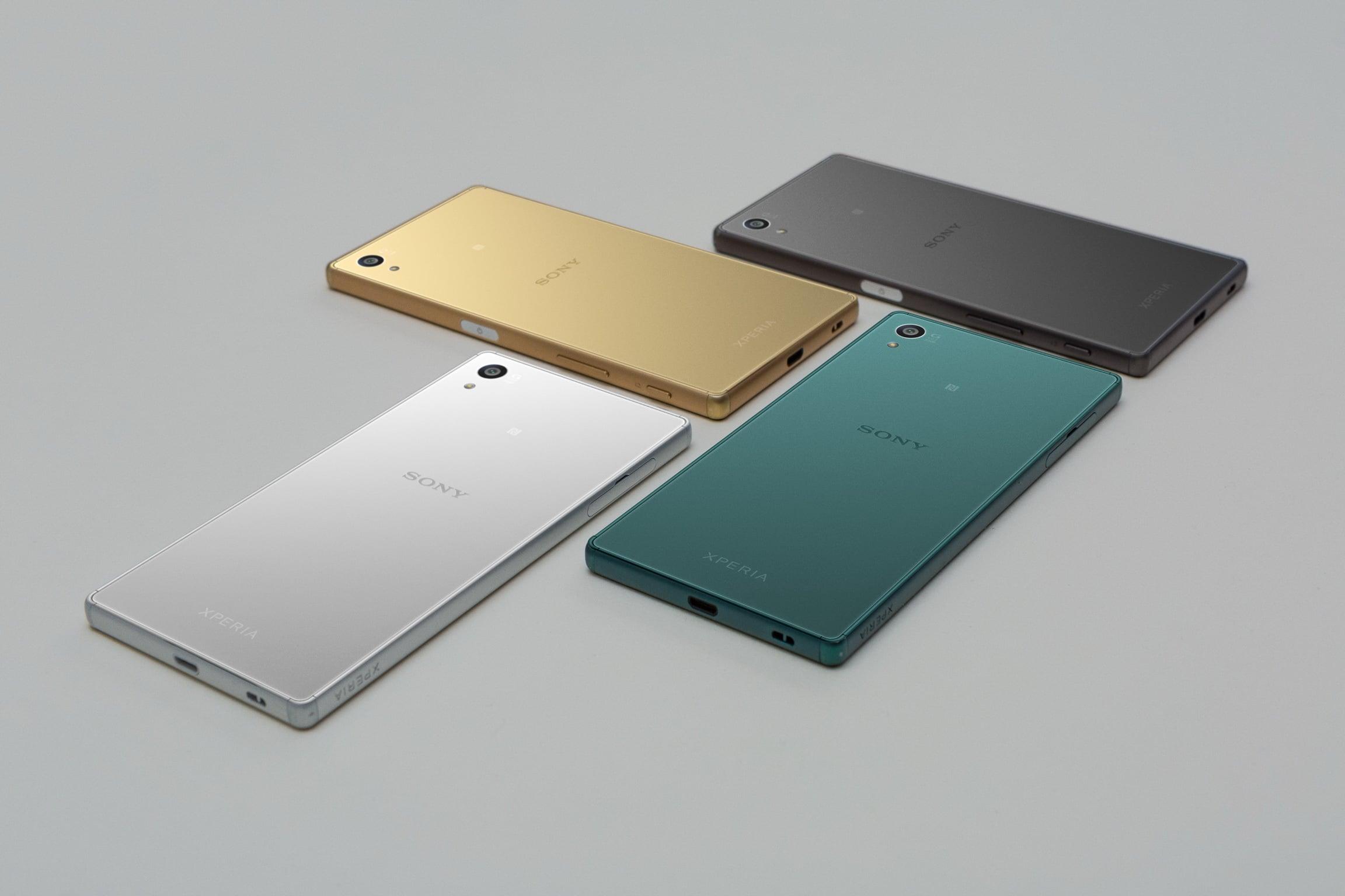 Trzy modele Sony Z5 doczekały się oficjalnej premiery 19