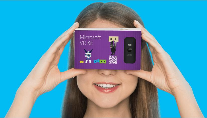 Tabletowo.pl Krótko: Microsoft szykuje VR Kit, czyli rywala dla Google Cardboard Krótko Microsoft Wearable
