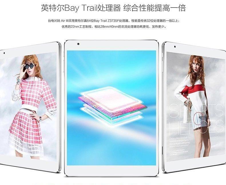 Tabletowo.pl Teclast zaprezentował tablet X98 Air III. Niestety tylko z Androidem 5.0 i Intel Atom Z3735F Android Nowości Tablety