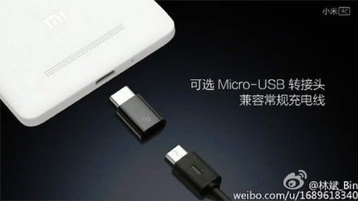 Xiaomi Mi 4C będzie kompatybilny z kablami microUSB 18