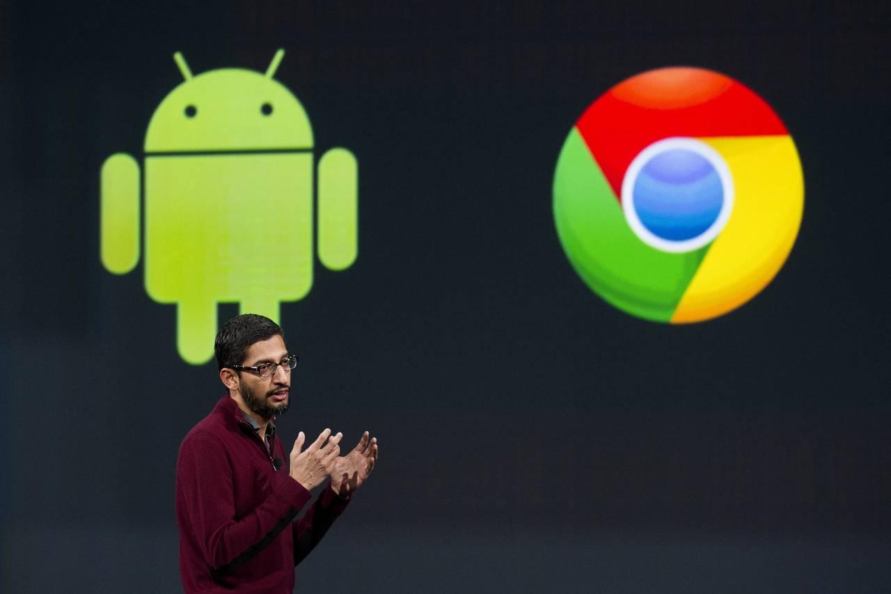 Google Chrome OS Android