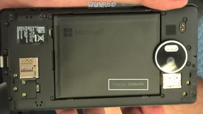 Lumia 950 XL wymienna bateria