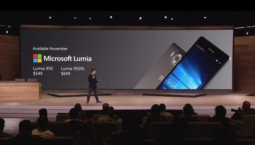 Lumia 950 i 950 XL ceny