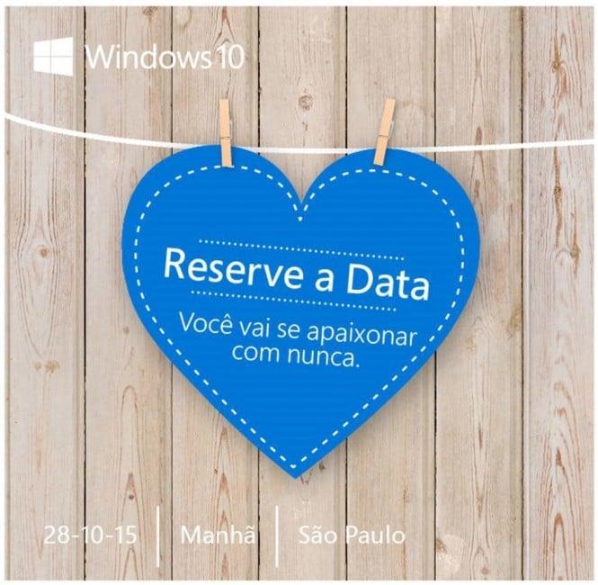 Microsoft Event Konferencja Brazylia Windows 10