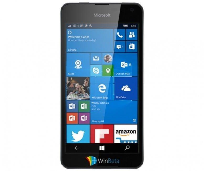 Microsoft Lumia Saana 650
