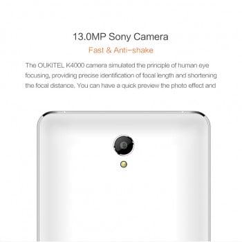 Tabletowo.pl Oukitel K4000 - smartfon z baterią 4000 mAh, która ma pozwolić na 5 dni normalnego użytkowania Android Chińskie Smartfony