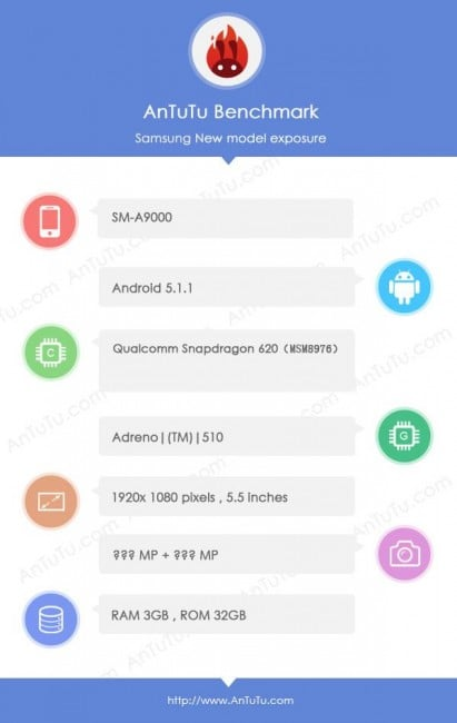 Tabletowo.pl Kolejny Samsung z serii A coraz bliżej - tym razem Galaxy A9 Android Samsung Smartfony