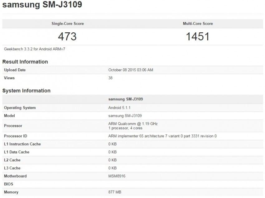 Samsung Galaxy J3 2