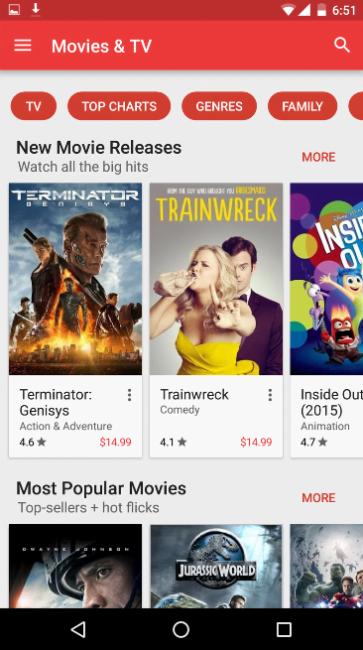 Sklep Google Play aktualizacja 4
