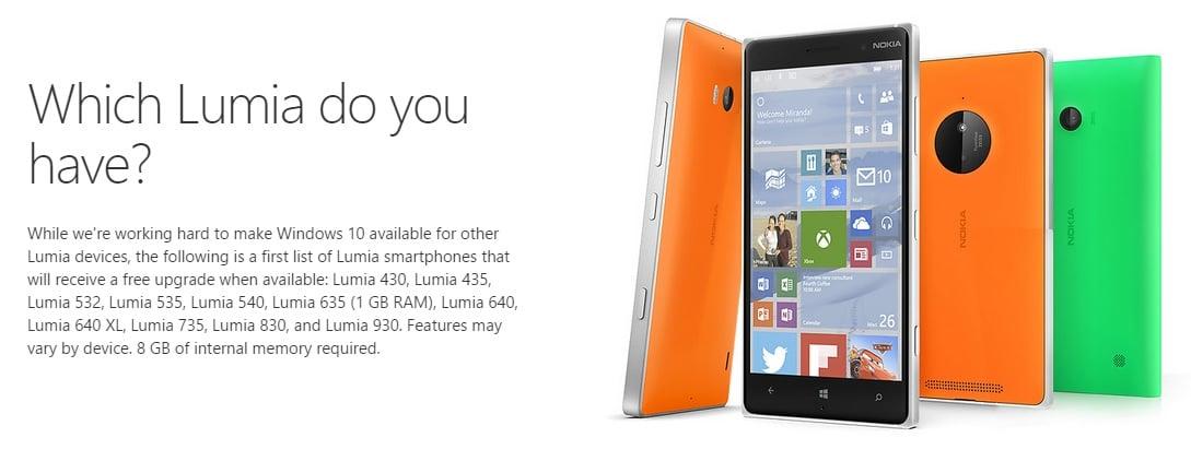 Windows 10 Mobile Lumia aktualizacja