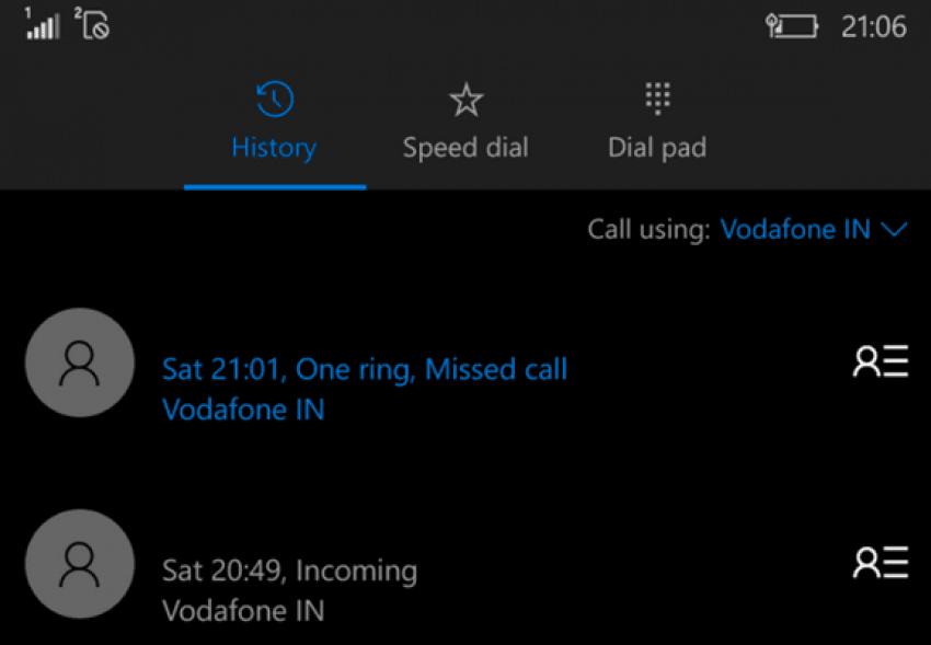 Windows 10 Mobile build 10572