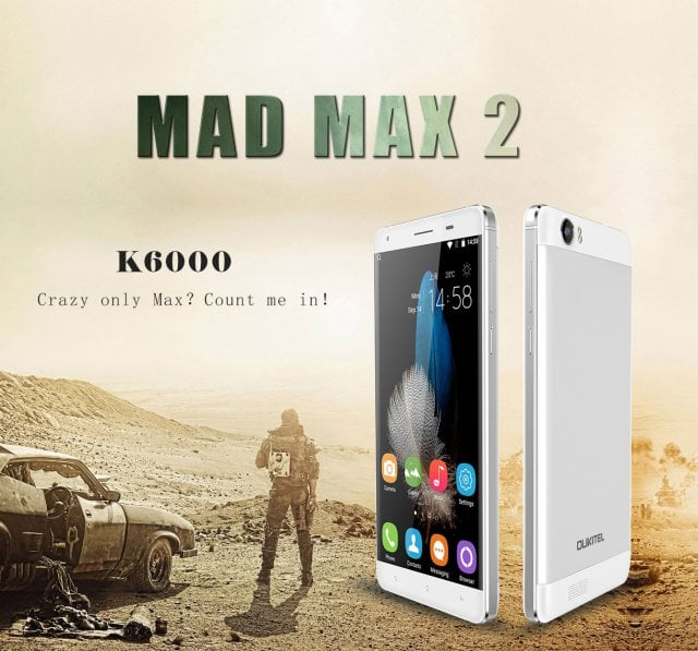 Oukitel K6000 będzie wyposażony w akumulator o pojemności aż 6000mAh 22