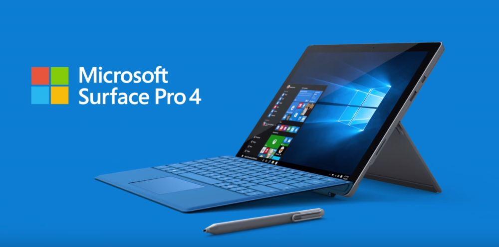Wybrane modele Surface Pro 4 w oficjalnym sklepie Microsoftu znowu 15% taniej 19