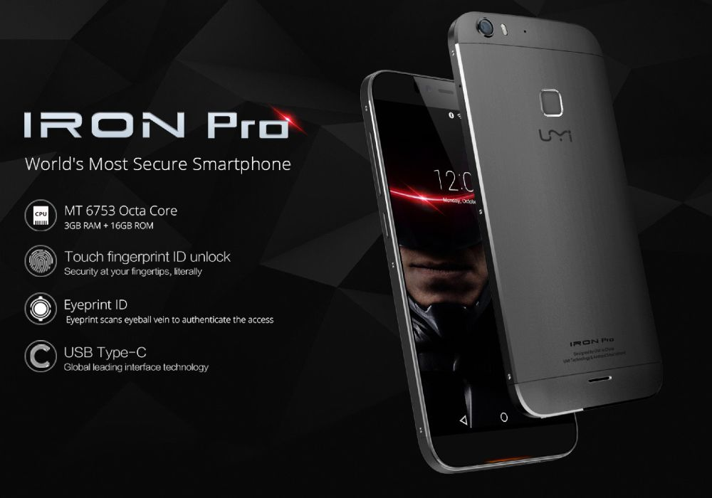 Tabletowo.pl Umi Iron Pro - okazuje się, że za 180 dolarów można mieć naprawdę wiele Android Smartfony