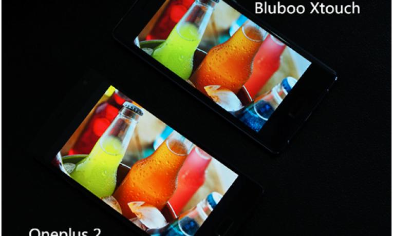 Bluboo znów wyzywa konkurenta na pojedynek – tym razem porównanie wyświetlaczy Xtouch i OnePlus 2