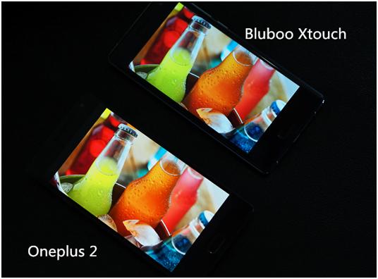 Bluboo znów wyzywa konkurenta na pojedynek - tym razem porównanie wyświetlaczy Xtouch i OnePlus 2 25