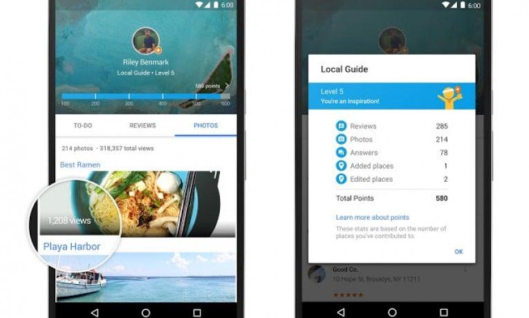 Google podaruje 1TB każdemu za opinię miejsc w aplikacji Mapy