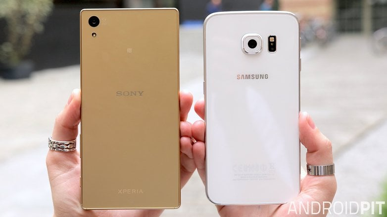 Sony Xperia Z5 vs Samsung Galaxy S6 Edge