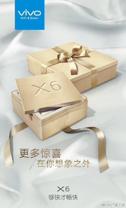 Vivo X6 zapowiedź