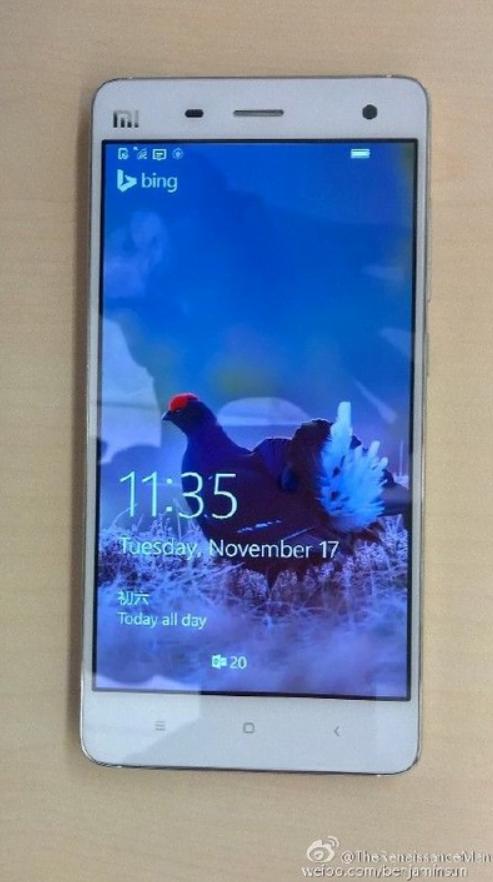 Xiaomi Mi 4 windows