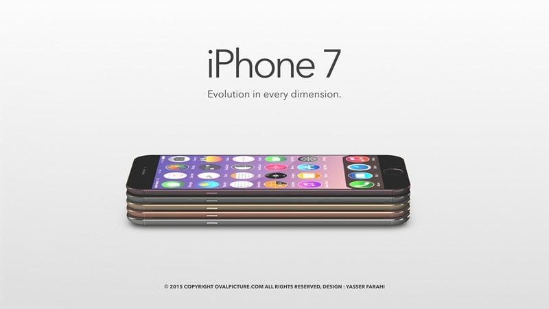 iPhone 7 koncept Yasser Farahi