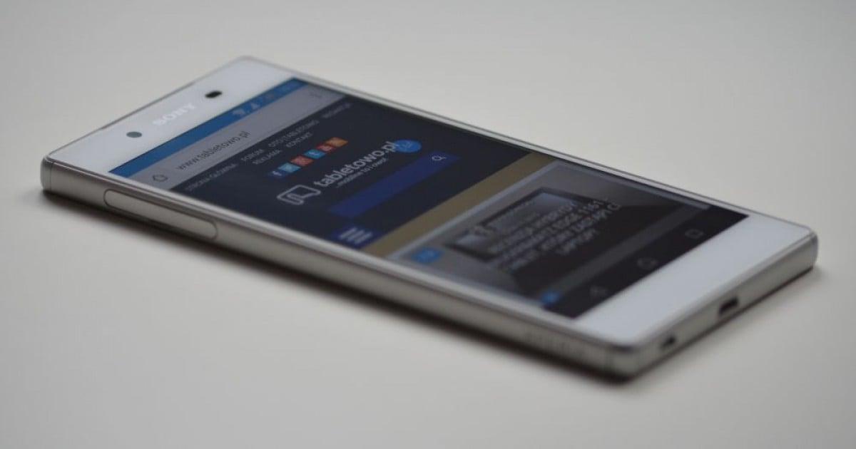 Krótko: Sony Xperia Z6 również z ekranem wykrywającym siłę ...