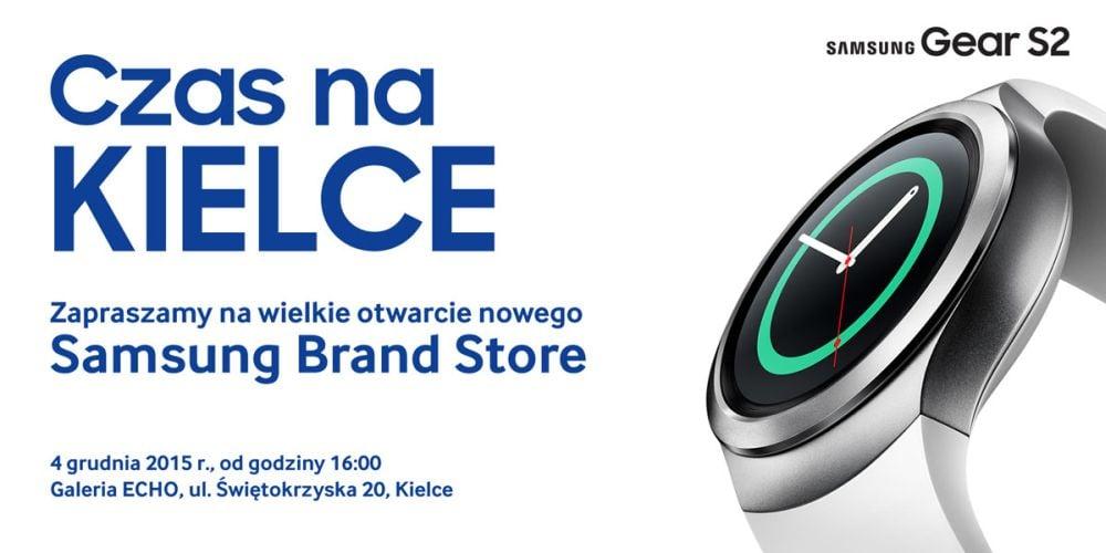 4 grudnia Samsung otworzy kolejny Brand Store - tym razem w Kielcach!