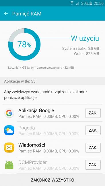 Recenzja Samsunga Galaxy Note 5 - najlepszego smartfona z rysikiem 66