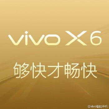 vivo x6 6