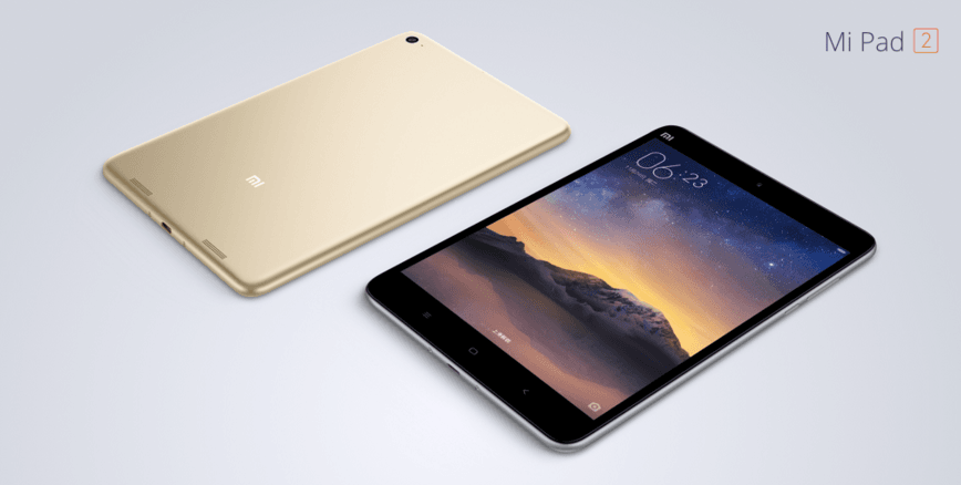"""Tabletowo.pl Xiaomi Mi Pad 2 oficjalnie zaprezentowany - ekran 7,9"""", Intel Atom x5, bateria 6190 mAh Android Nowości Tablety Xiaomi"""