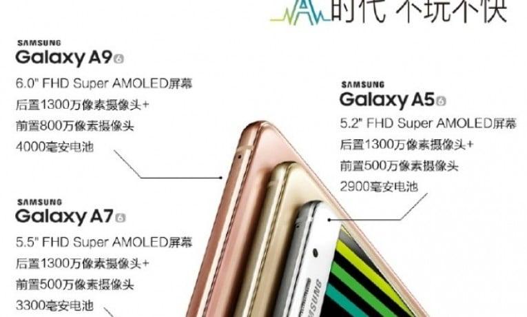 Garść nowych informacji o Samsungu Galaxy A9