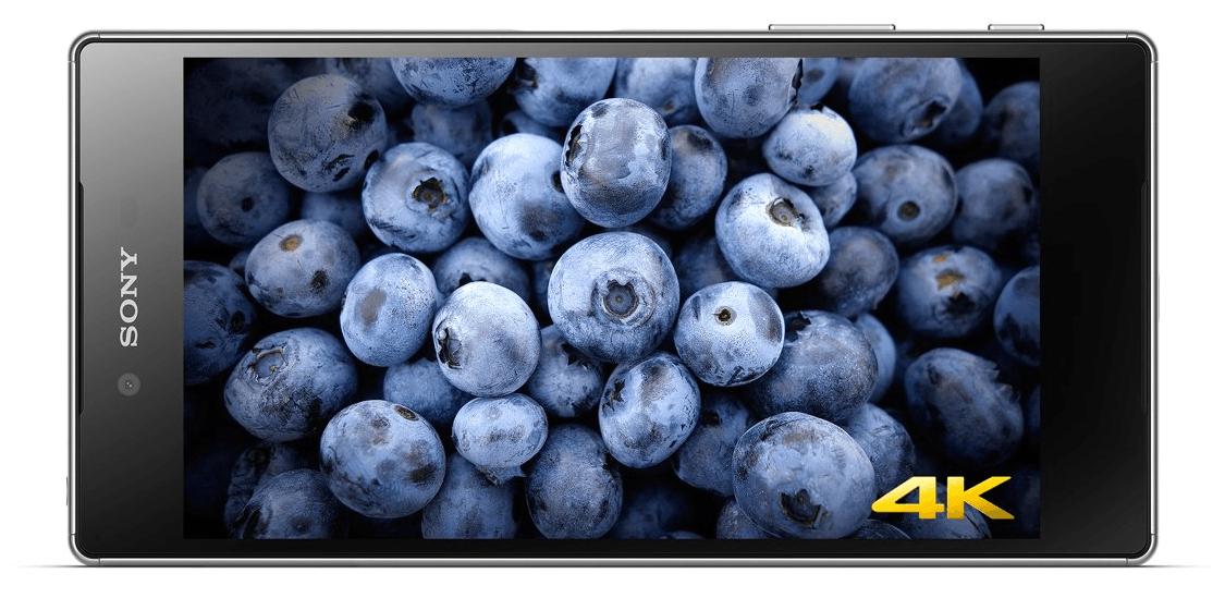 Sony Xperia Z5 Premium wyświetlacz ekran 4K