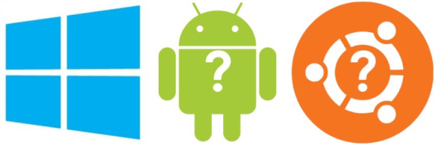 Windows Android Ubuntu