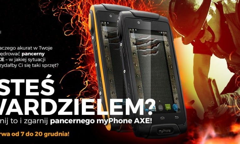 Potrzebujesz pancernego smartfona? Tak się składa, że mam dla Ciebie sztukę (konkurs)