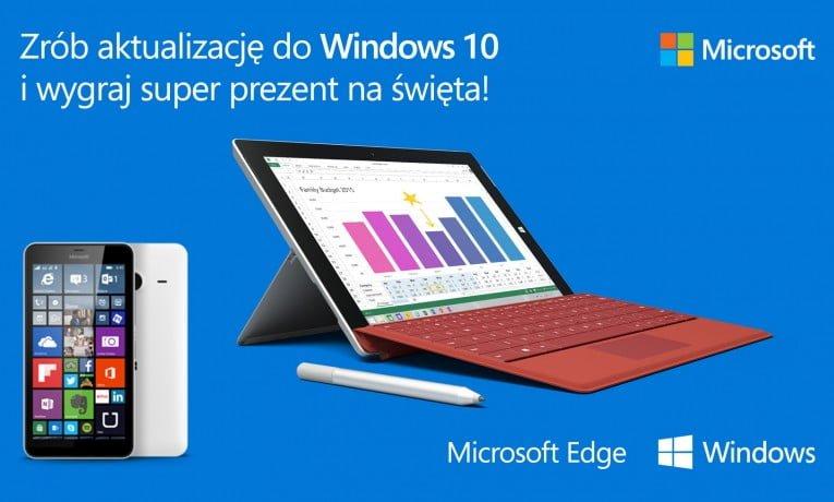 Konkurs: Do wygrania urządzenia firmy Microsoft – Surface 3 i Lumia 640 XL. Do dzieła!
