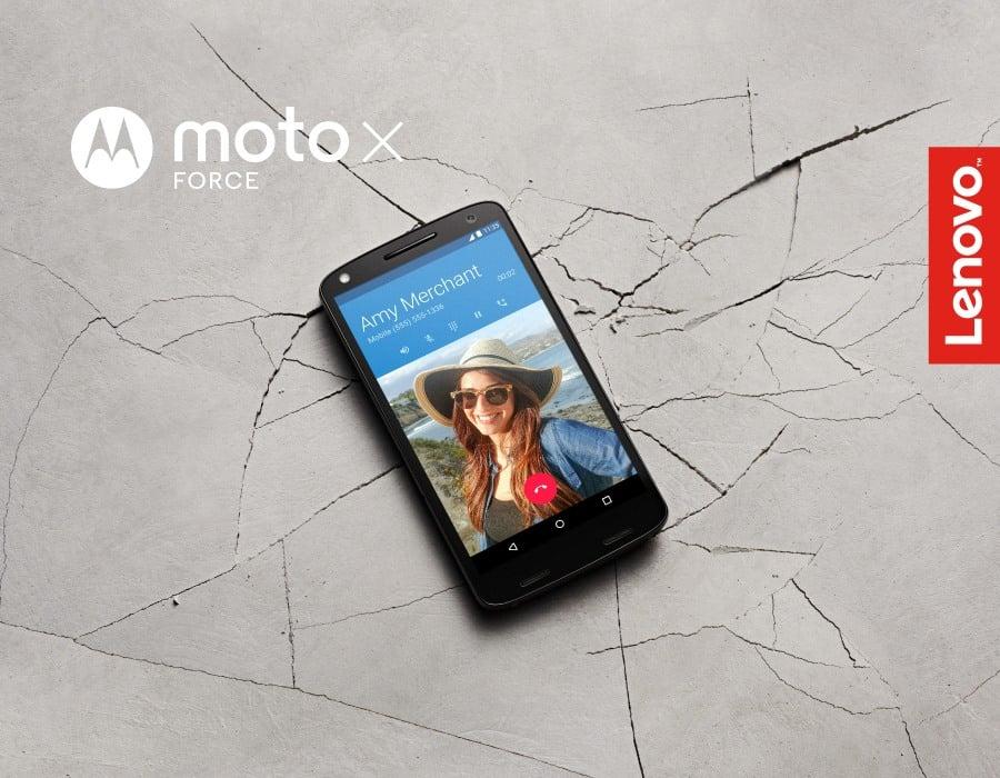 Tabletowo.pl Lenovo Moto X Force z nietłukącym się ekranem debiutuje w Polsce Android Lenovo Motorola Smartfony