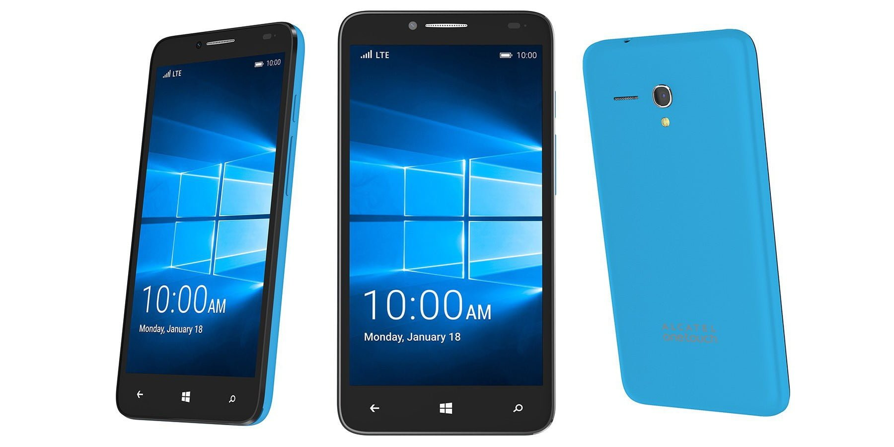 Tabletowo.pl Alcatel OneTouch Fierce XL - nowość z Windows 10 Mobile Alcatel Nowości Smartfony Windows