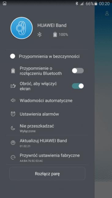 Tabletowo.pl Recenzja opaski Huawei Band B0 (Honor Zero) Android Huawei iOS Recenzje Wearable