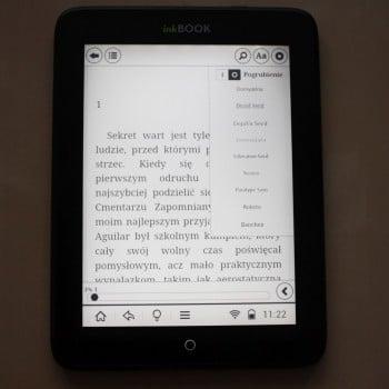 Recenzja czytnika InkBOOK Obsidian 22