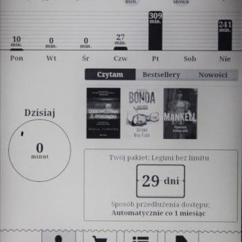 Recenzja czytnika InkBOOK Obsidian 28