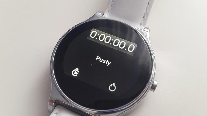 Tabletowo.pl Recenzja taniego smartwatcha Kruger&Matz Style Kruger&Matz Recenzje Wearable