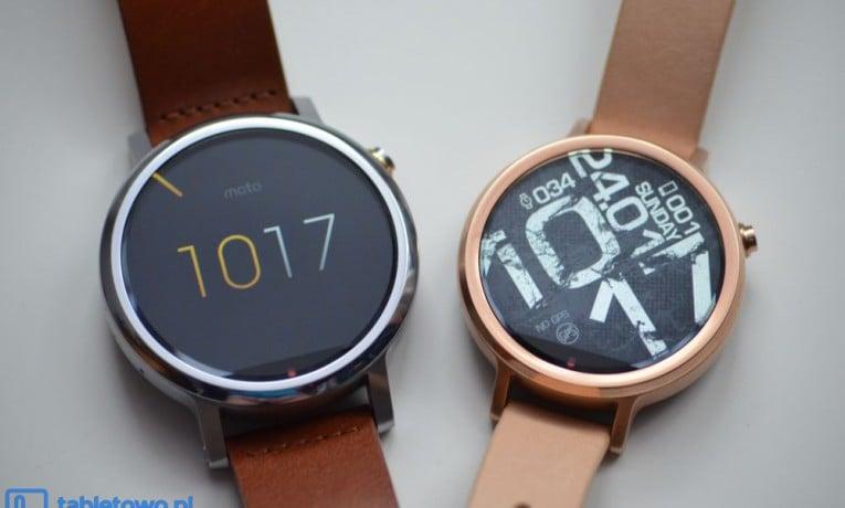 Nowa wersja Android Wear trafia sukcesywnie na Moto 360 drugiej generacji
